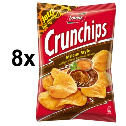 CRUNCHIPS AFRICAN STYLE 175G
